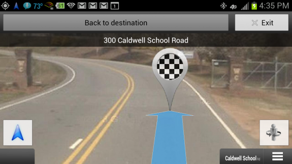 android maps arrival picture