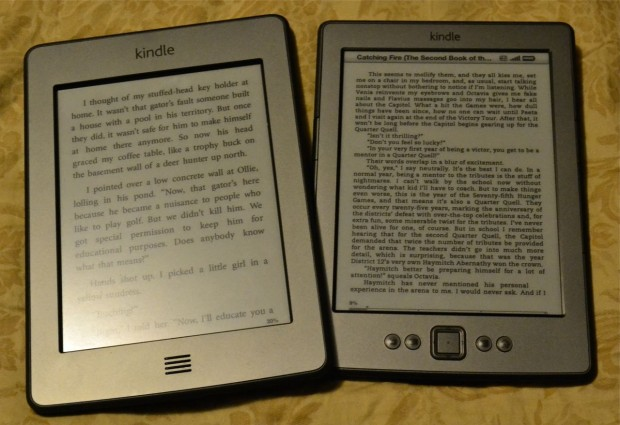 Kindle and Kindle Touch