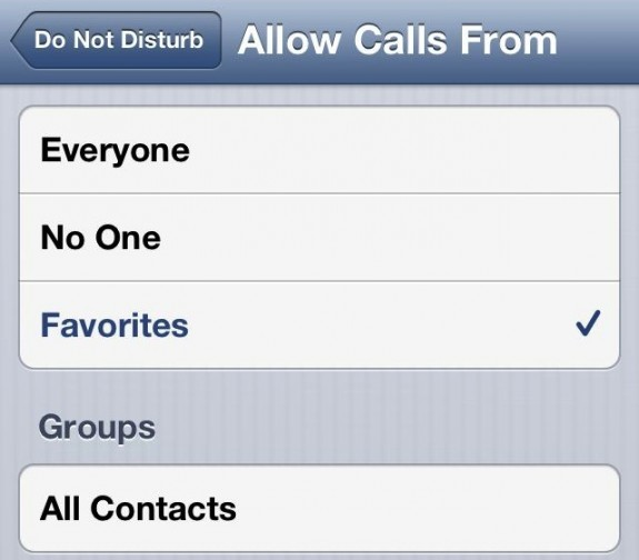 How to Use Do Not Disturb on iOS 6 - 4