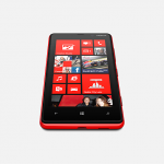 Lumia 820 head on