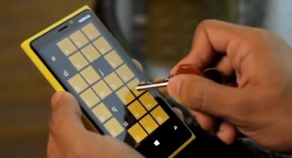 Nokia Lumia 920 Display