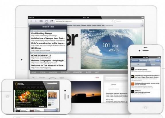Safari Syncing iOS 6