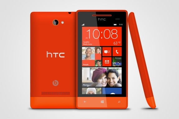 Windows Phone 8S by HTC Red