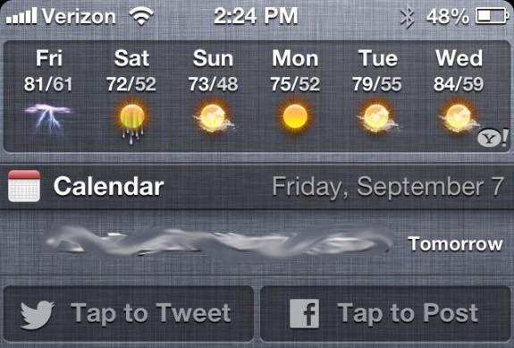 iOS 6 Sharing Facebook