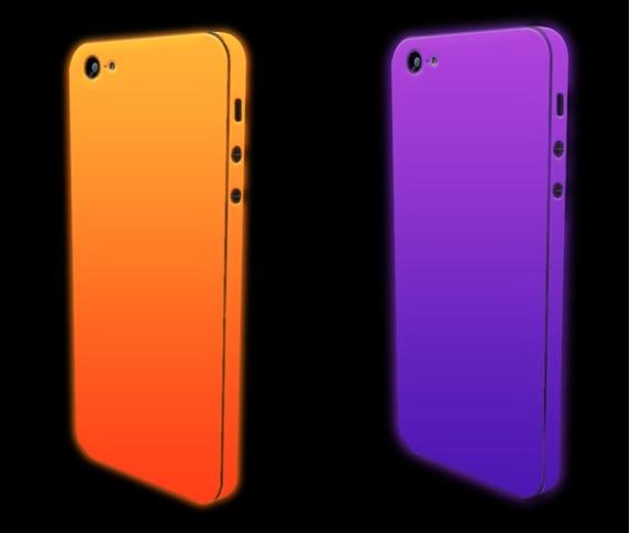 iPhone 5 glow in the dark skin