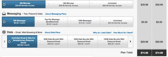 iPhone 5 unlimited data
