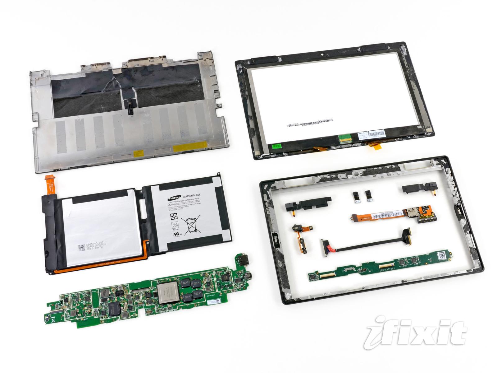 Microsoft Surface Teardown