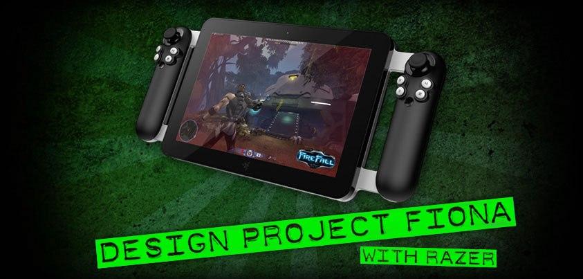 Razer Project Fiona tablet