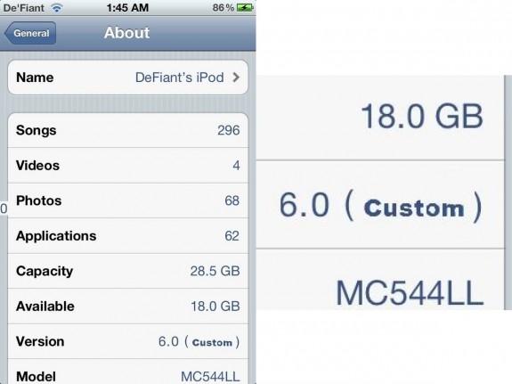 iOS 6 jailbreak fake