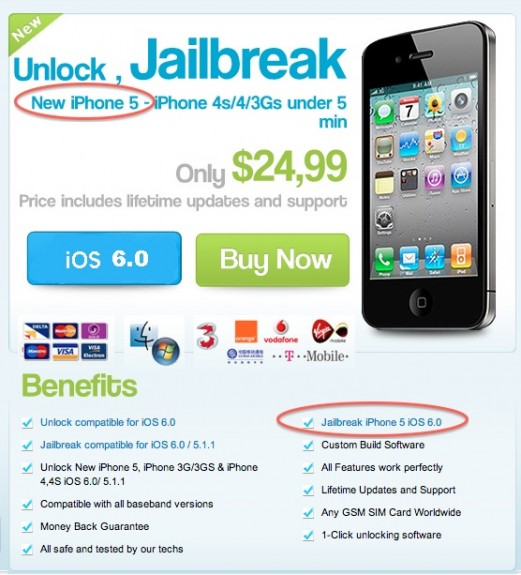 iPhone 5 jailbreak