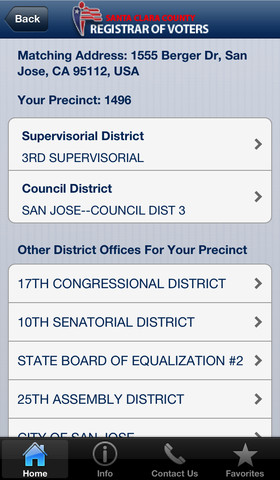 2102 election iPhone sample ballot
