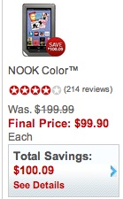 Black Friday Nook Deals 2012 Staples