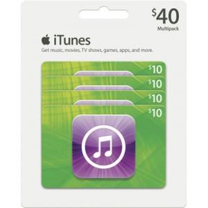 Black Friday iTunes Gift Card Deals 2012