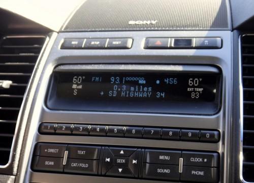 Ford SYnc 2010