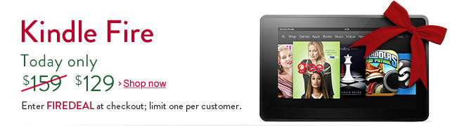 Kindle Fire Cyber Monday