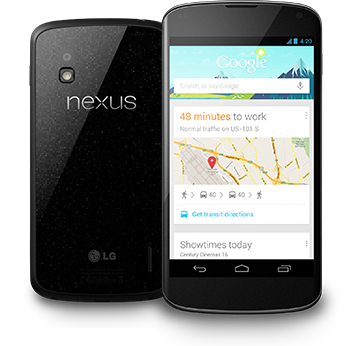 LG Nexus 4 on sale Tuesday
