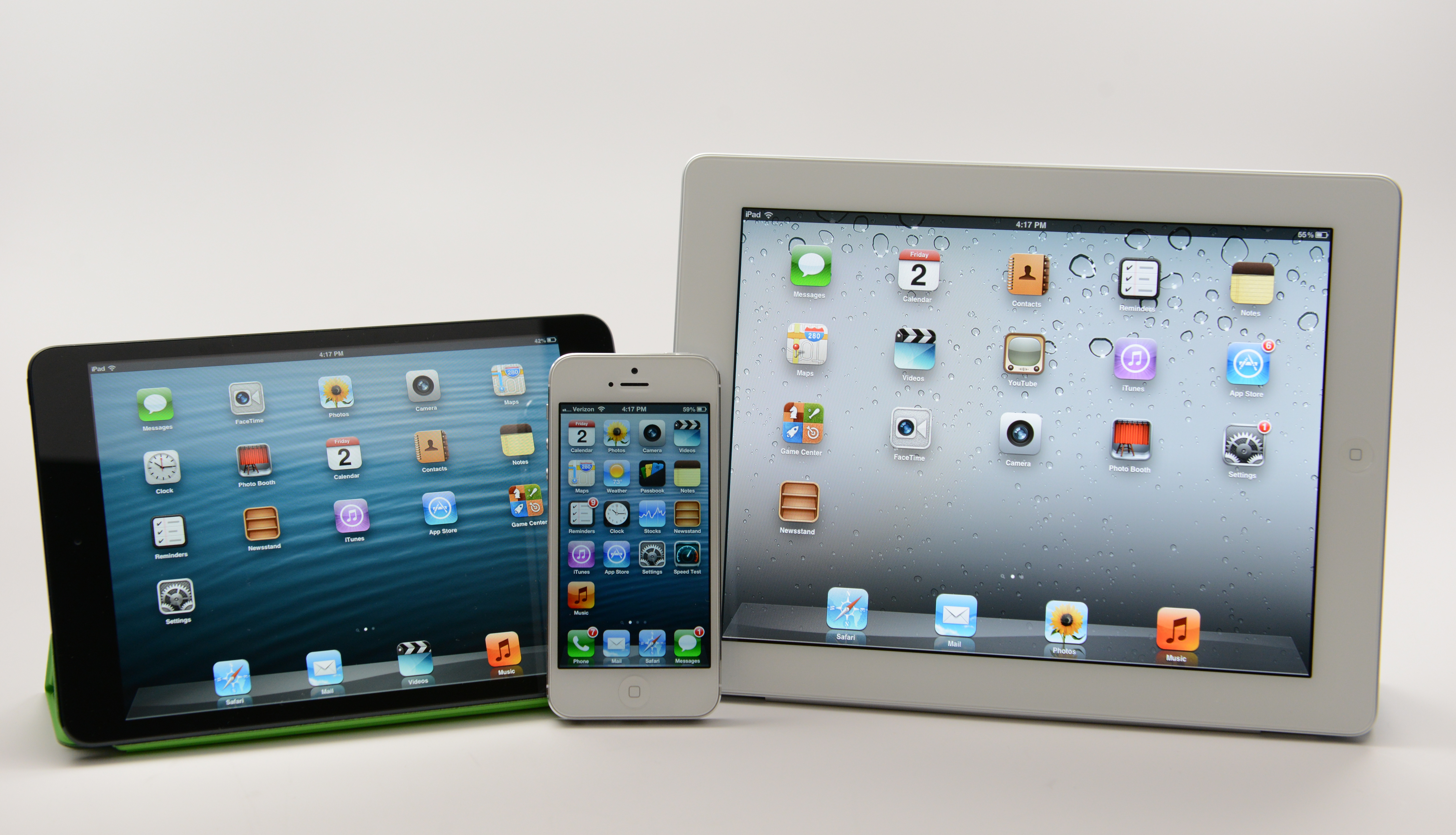Apple's mobile lineup helps Apple maintain the #1 spot.