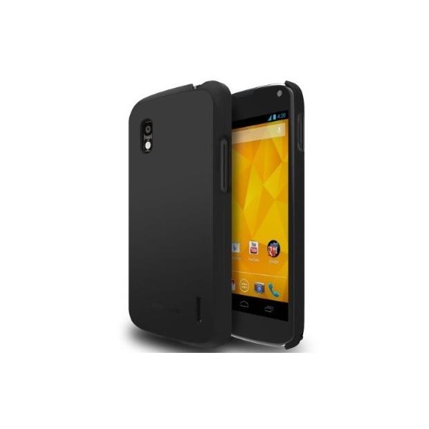 Nexus 4 case matte black SF