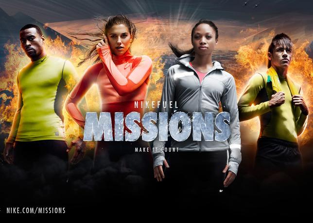 NikeFuel Missions