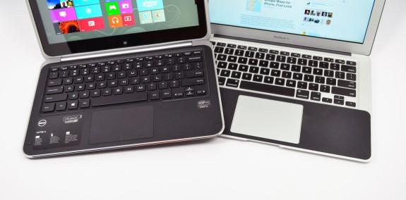 XPS 12 Ultrabook Convertible vs. MacBook Air - 17