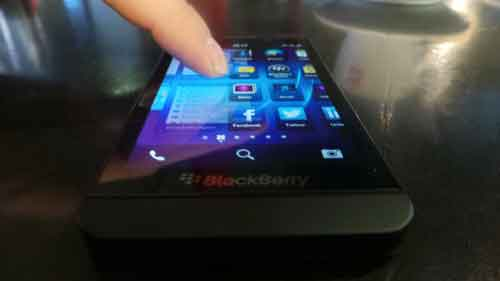 BlackBerry Z10 leaked image