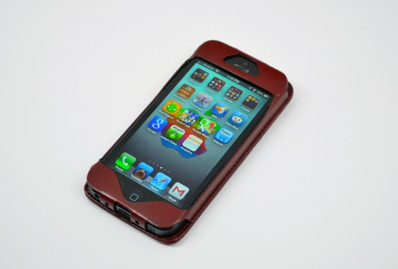 MAPI leather iPhone 5 wallet case review - 1