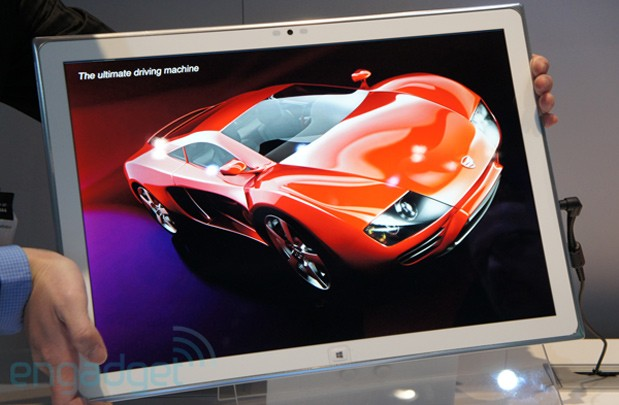 Panasonic 4K tablet prototype
