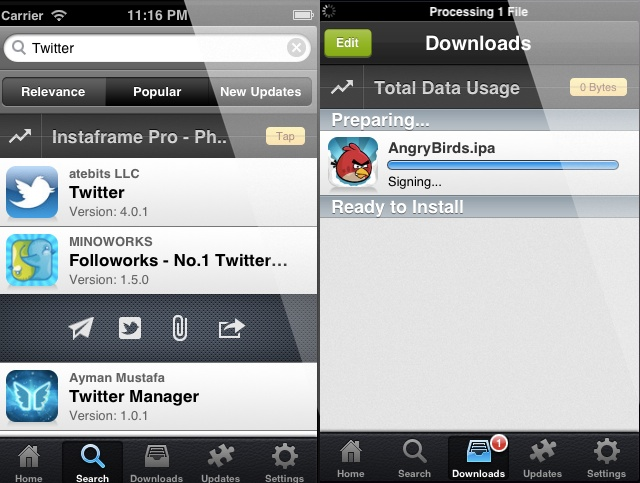 Pirated apps no iOS 6 jailbreak