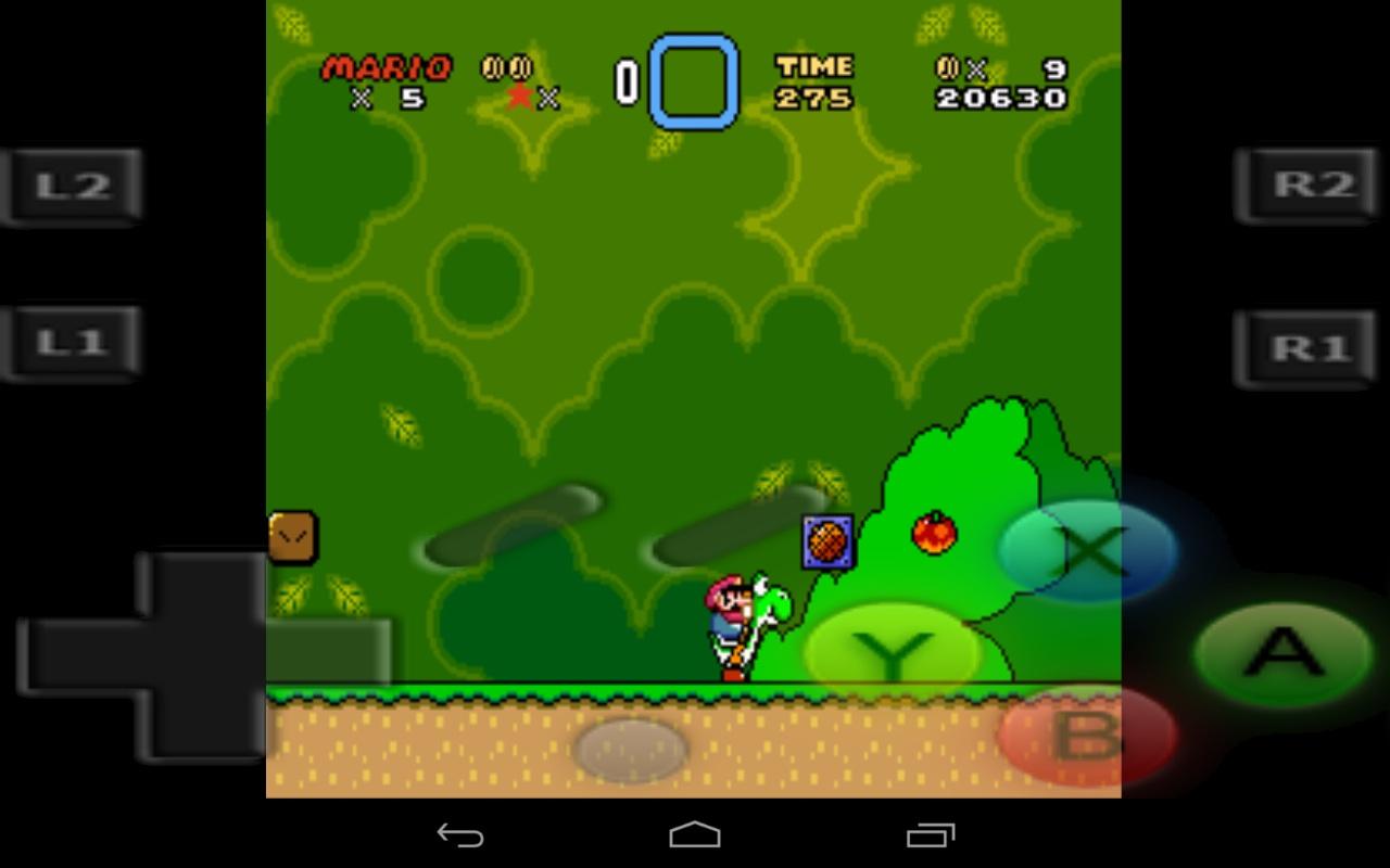 Snes emulator Android RetroArch