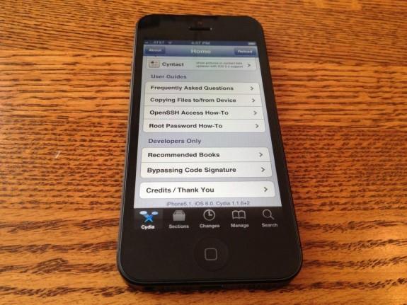 iOS 6 jailbreak iPhone 5