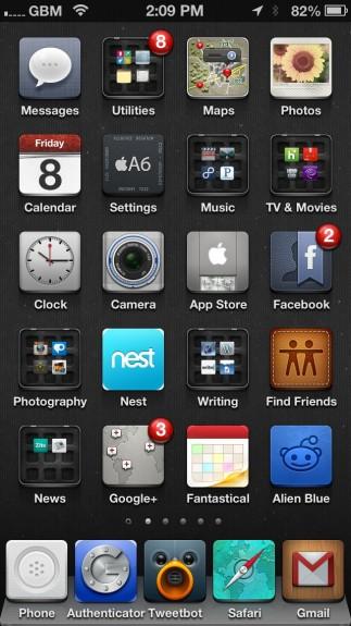 Best Cydia Themes - iOS 6 Winterboard Themes - Jaku