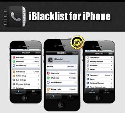 Block calls on iPhone cydia app
