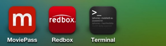 Open Mobile Terminal.