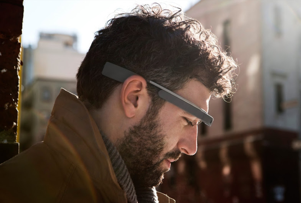 Google Glass press image