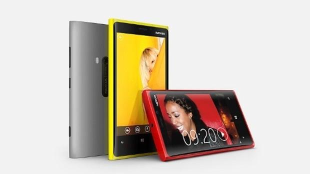 Nokia's current flagship, the Nokia Lumia 920