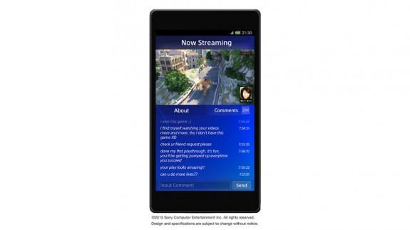 PlayStation 4 PlayStation App screenshot