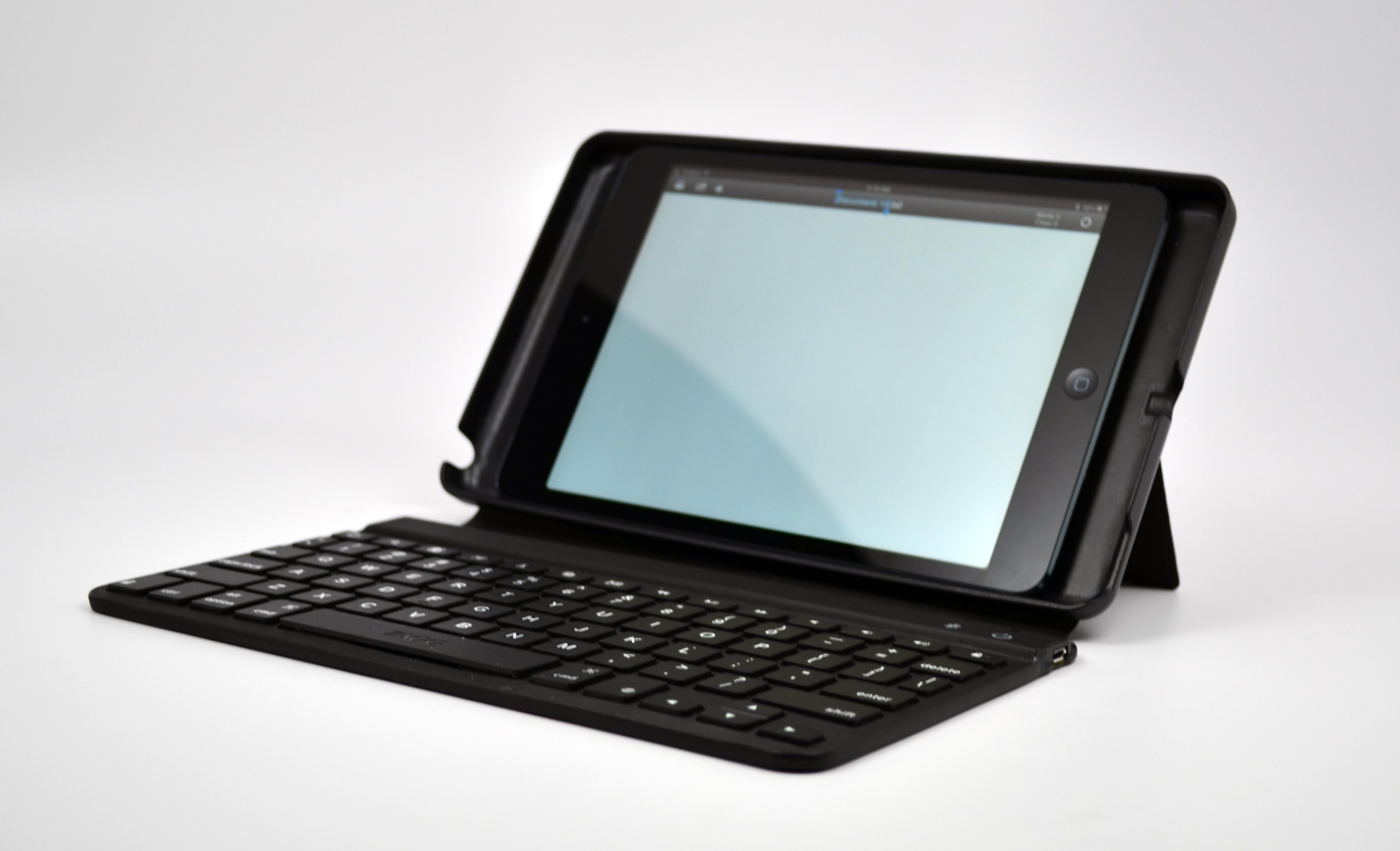 ZAGGKeys mini 9 review - iPad mini keyboad case - 04