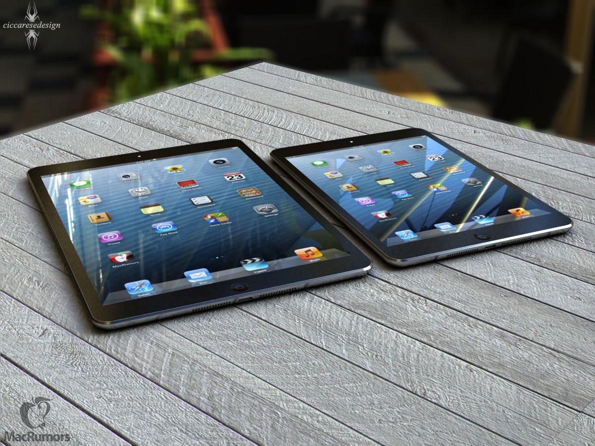 iPad 5 vs. iPad mini