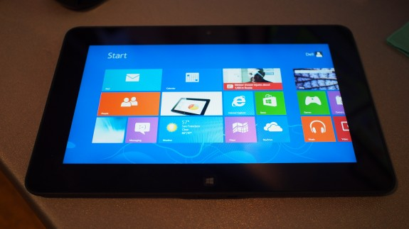 Dell Latitude 10 with Intel Atom CPU delivers up to 20 hours of battery life with Windows 8
