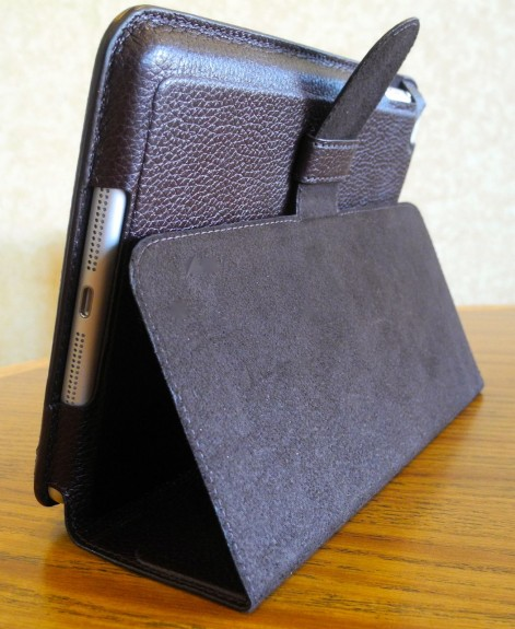 mapicases soli leather ipad mini top edge