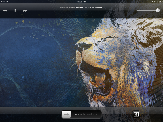 I still love the lock screen controls.