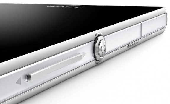 The Xperia Z features a microSD card slot for expanded storage.