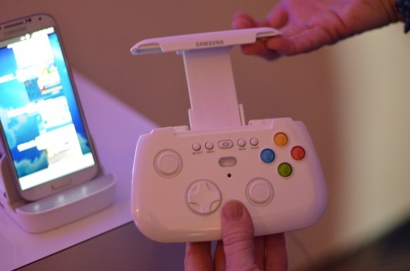 The GamePad accessory will be coming to the Galaxy S4 at least.