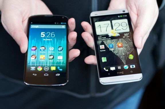 The HTC One software features help set it apart from devices like the Nexus 4.