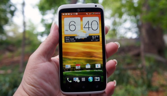 The HTC One X remains on Android 4.0 ICS.