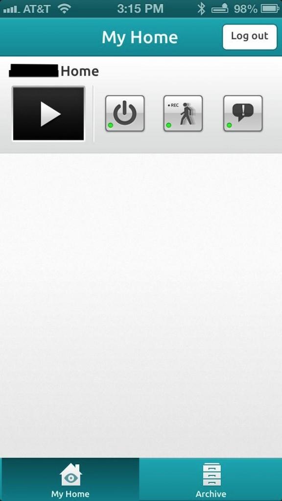 homemonitor iphone app