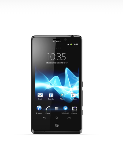 The Xperia TL has received Jelly Bean today from AT&T.