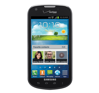 The mid-range Samsung Galaxy Stellar has beaten the HTC One X to Jelly Bean.