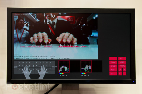 fujitsu-gesture-keyboard-pictures-hands-on-2