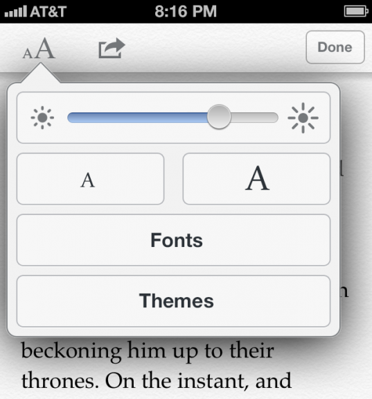 Caswell imagines more reading options in Safari for iOS 7.